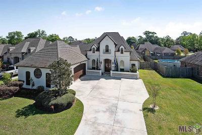 Denham Springs Single Family Home For Sale: 19888 Hearthstone Dr