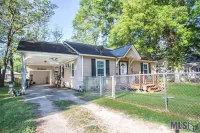 Denham Springs Single Family Home For Sale: 306 Hickory