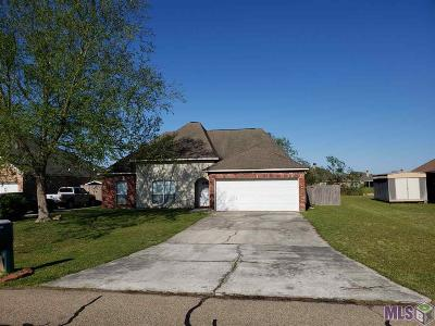 Denham Springs Single Family Home For Sale: 35987 Wilmington Ave
