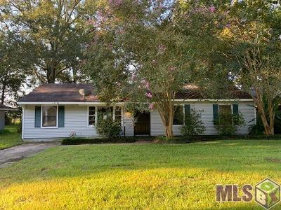 Baton Rouge Single Family Home For Sale: 10452 N Harvey Dr
