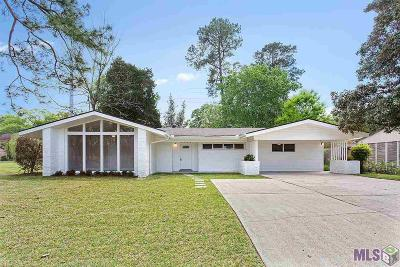Baton Rouge Single Family Home For Sale: 5364 Westdale Dr