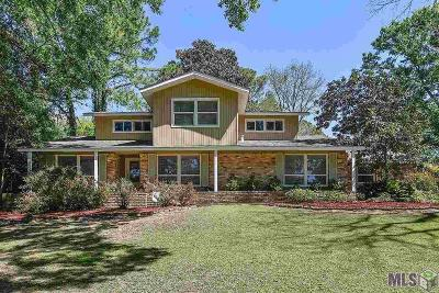 Baton Rouge Single Family Home For Sale: 11655 Highland Rd