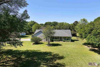 Zachary Single Family Home For Sale: 8711 E Vernon Rd