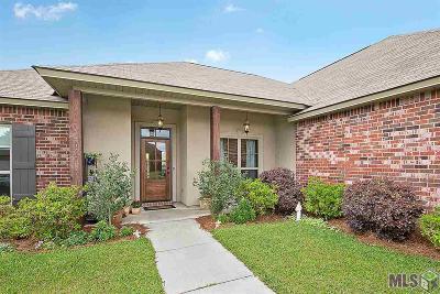 Denham Springs Single Family Home For Sale: 10719 Fenway Ln