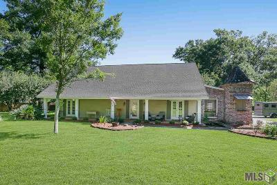 Prairieville Single Family Home For Sale: 18258 John Broussard Rd