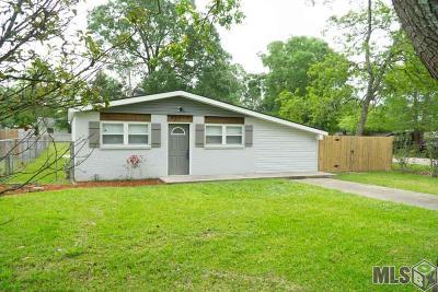 Denham Springs Single Family Home Contingent: 30618 Shannon Dr