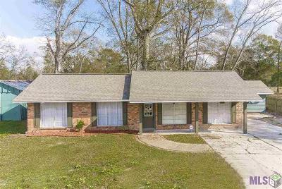 Gonzales Single Family Home For Sale: 11070 Martin Rd
