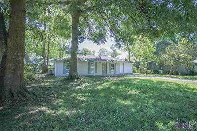 Denham Springs Single Family Home For Sale: 1458 Clinton Dr