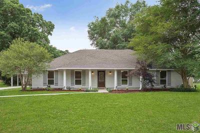 Denham Springs Single Family Home For Sale: 7960 Hermitage Dr