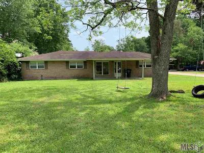 Greenwell Springs Single Family Home For Sale: 15223 Frenchtown Rd