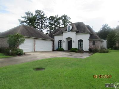 Denham Springs Single Family Home For Sale: 9266 Greystone Dr