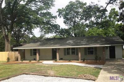Prairieville, Geismar, Gonzales, Baton Rouge Single Family Home For Sale: 5707 College Dr