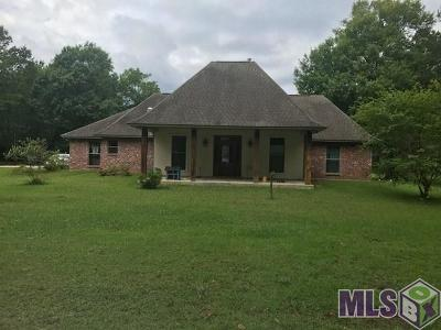 Denham Springs Single Family Home For Sale: 31165 Burgess R Burgess Rd