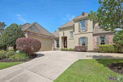Baton Rouge Single Family Home For Sale: 19129 Spyglass Hill Dr