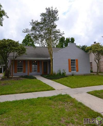Baton Rouge Single Family Home For Sale: 13642 Parwood Ave