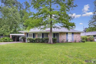 Baton Rouge Single Family Home For Sale: 9155 S Contour Dr