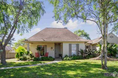 Baton Rouge Single Family Home For Sale: 611 Millgate Pl