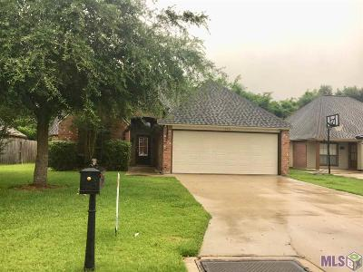Geismar Rental For Rent: 12218 Spring Valley Dr