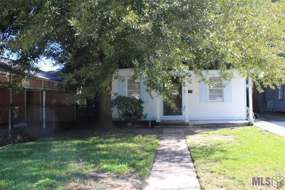 Baton Rouge LA Single Family Home For Sale: $66,000
