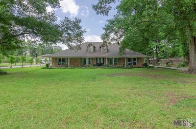 Denham Springs Single Family Home For Sale: 533 W Rushing Rd