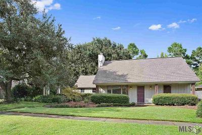 Baton Rouge Single Family Home For Sale: 11821 Oakwilde Ave
