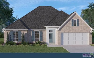 Denham Springs Single Family Home For Sale: 8787 Tatler St