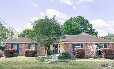 Denham Springs Single Family Home For Sale: 8409 Vincent Rd