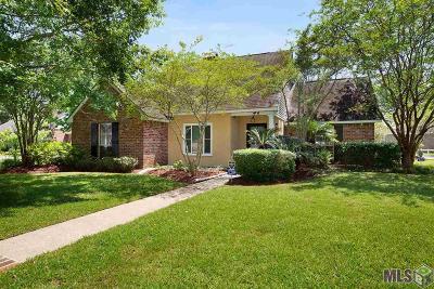 Prairieville, Baton Rouge, Geismar, Gonzales Single Family Home For Sale: 17754 Azalea Lakes Ave