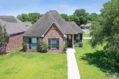 Geismar Single Family Home For Auction: 12356 Dutchtown Villa Dr