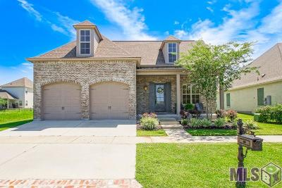 Zachary Single Family Home For Sale: 3650 Spanish Trail