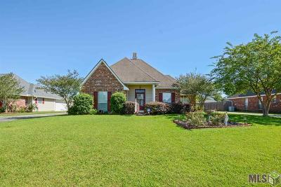 Denham Springs Single Family Home For Sale: 11217 Dove Hollow Dr