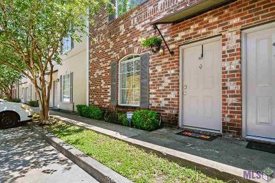 Baton Rouge Condo/Townhouse For Sale: 2405 Brightside Dr #56