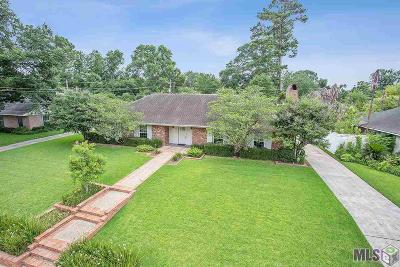 Baton Rouge Single Family Home For Sale: 1164 Belvedere Dr