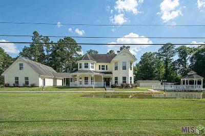 Denham Springs Single Family Home For Sale: 10558 Whittington Rd