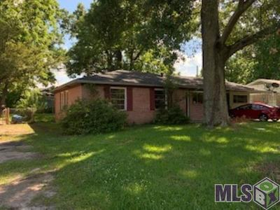 Baton Rouge Single Family Home For Sale: 6644 Fern Dr