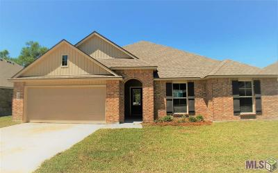 Denham Springs Single Family Home For Sale: 12986 Fowler Dr