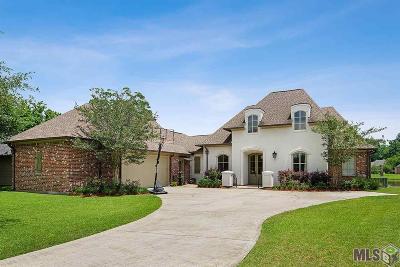 Geismar Single Family Home For Sale: 12386 Oak Colony Dr