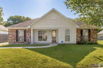 Zachary Single Family Home For Sale: 3310 Ramey Dr