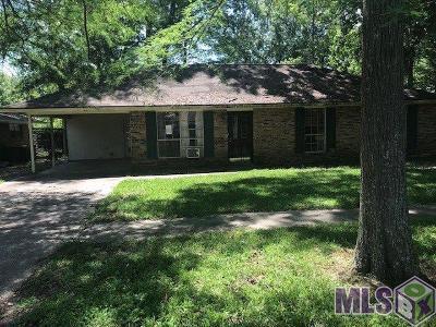 Baton Rouge Single Family Home For Sale: 1844 Stafford Dr