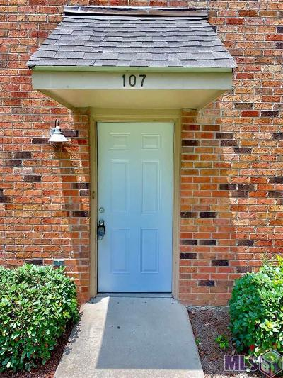 Baton Rouge Condo/Townhouse For Sale: 710 E Boyd Dr #107