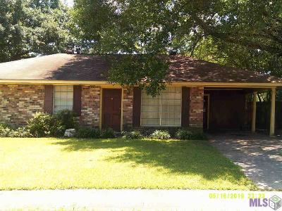 Baton Rouge Single Family Home For Sale: 5486 San Juan Dr