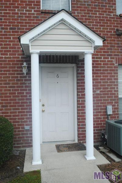 Baton Rouge Condo/Townhouse For Sale: 1500 Brightside Dr #C-6