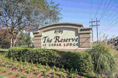 Baton Rouge Condo/Townhouse For Sale: 6765 Corporate Blvd #2102