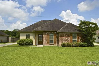 Prairieville Single Family Home For Sale: 16047 Weston Court Dr