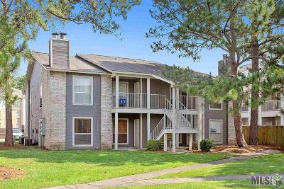 Baton Rouge Condo/Townhouse For Sale: 5113 Nicholson Dr #A-47