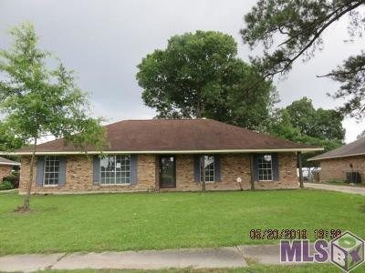 Baton Rouge Single Family Home For Sale: 3650 Pasadena Dr