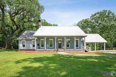 Greenwell Springs Single Family Home For Sale: 32550 Greenwell Springs Rd