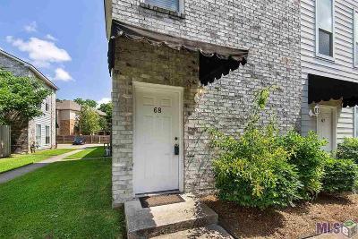 Baton Rouge Condo/Townhouse For Sale: 5147 Nicholson Dr #68