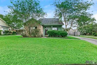 Baton Rouge Single Family Home For Sale: 13843 Tuckborough Rd