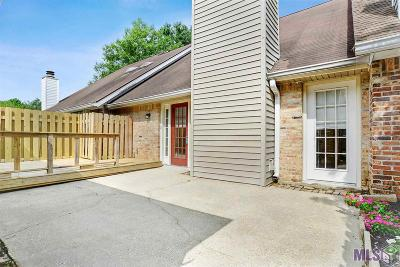 Baton Rouge Condo/Townhouse For Sale: 2072 Michel Delving Rd